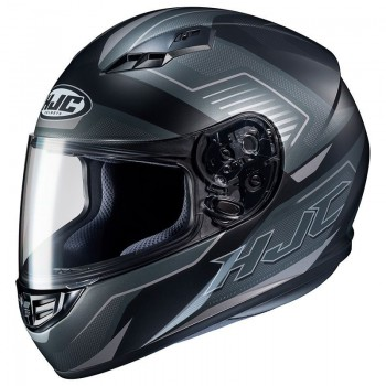 Casque HJC CS-15 Trion Noir Gris Titanium