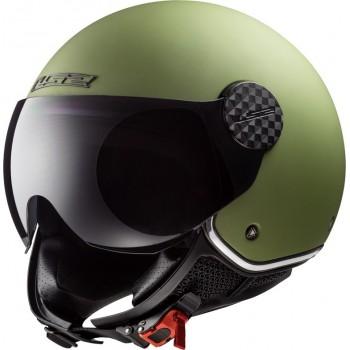 Casque Jet LS2 Sphere Lux Mat Kaki