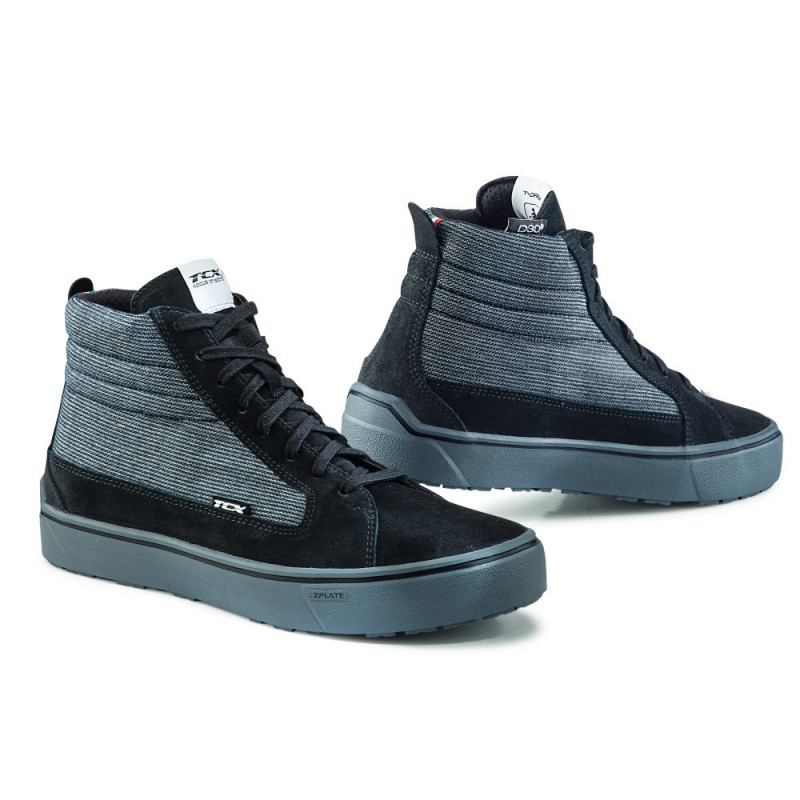 Basket TCX Street 3 Tex Waterproof Noir Gris