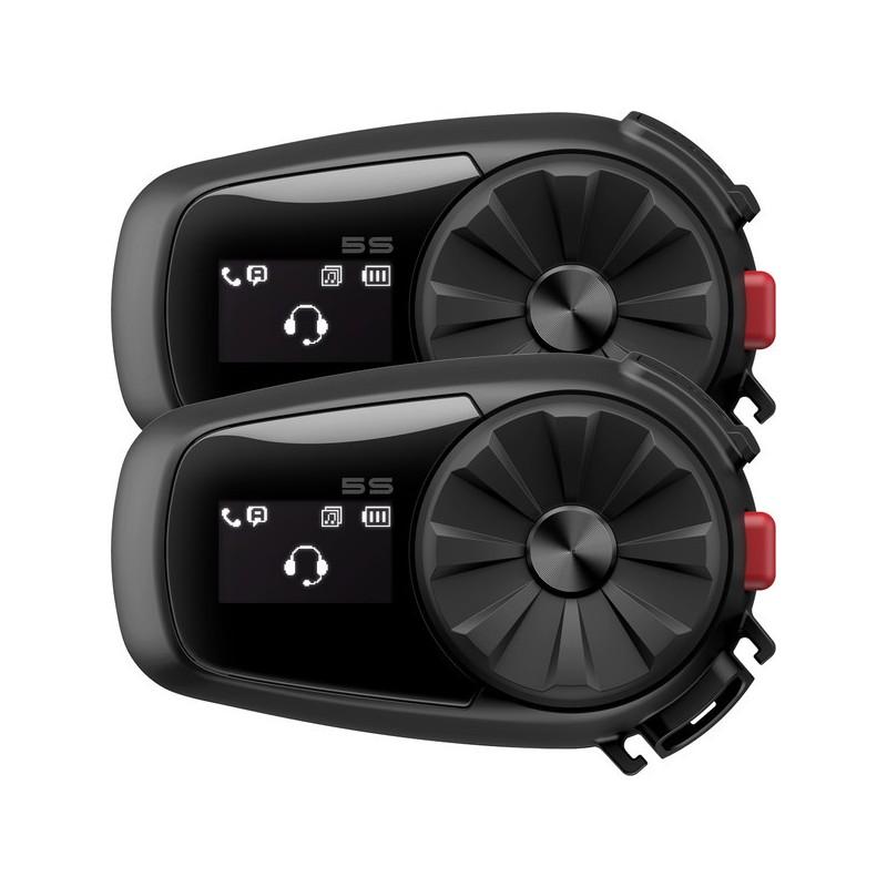 Intercom Bluetooth Sena 5S avec ecran LCD Duo