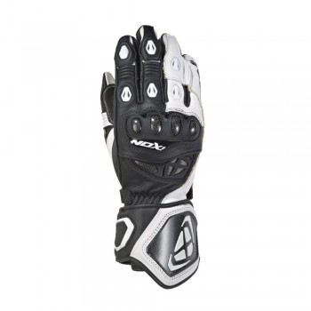 Gants Racing IXON RS Genius 2 Noir Blanc