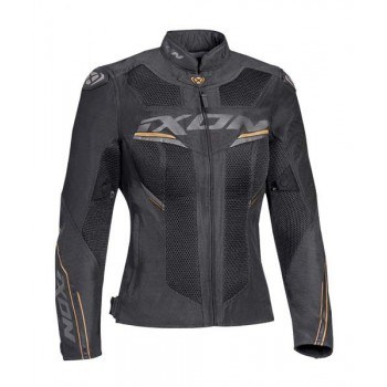 Blouson Ixon Draco Lady Anthracite Noir Or