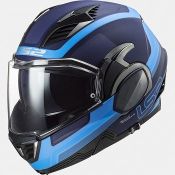 Casque LS2 Valiant II FF900 Orbit Mat Blue