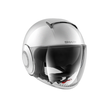 Casque Shark Nano Crystal Blank Perle