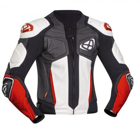 Blouson Racing Ixon Vendetta Evo Noir Blanc Rouge