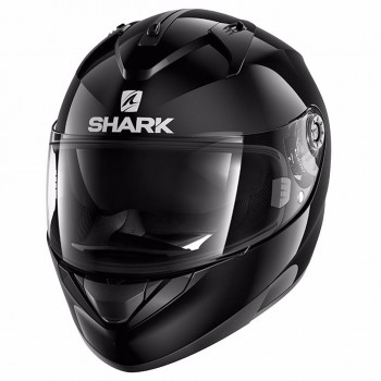 Casque Shark Ridill 1.2 Blank Noir Brillant