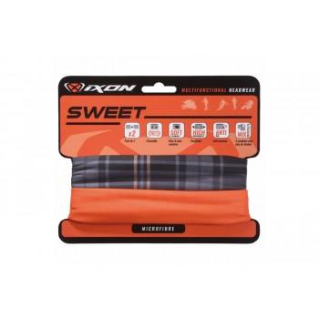 Tour de cou Ixon Sweet Square Noir / Uni Orange