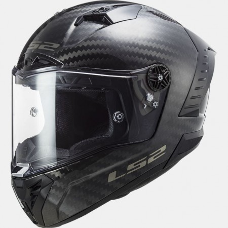 Casque LS2 FF805 Thunder Racing 1 Carbon Solid