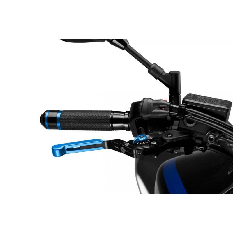Levier dde frein rabattable extensible 3.0 bleu Noir Puig