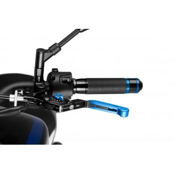 Levier d'embrayage rabattable extensible 3.0 bleu Noir Puig