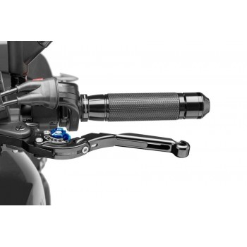Levier de frein rabattable extensible 2.0 Puig Bleu Noir