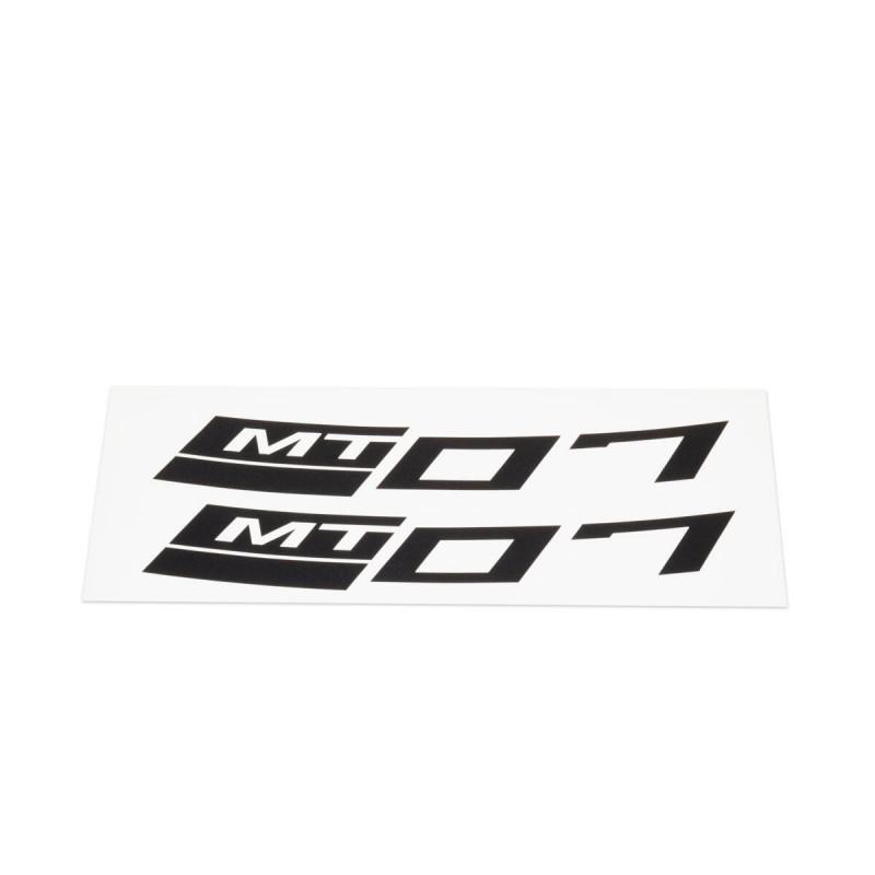 Stickers rétroréfléchissants Yamaha MT-07 pour jante