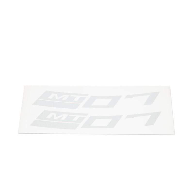 Stickers rétroréfléchissants Argent Yamaha MT-07 pour jante