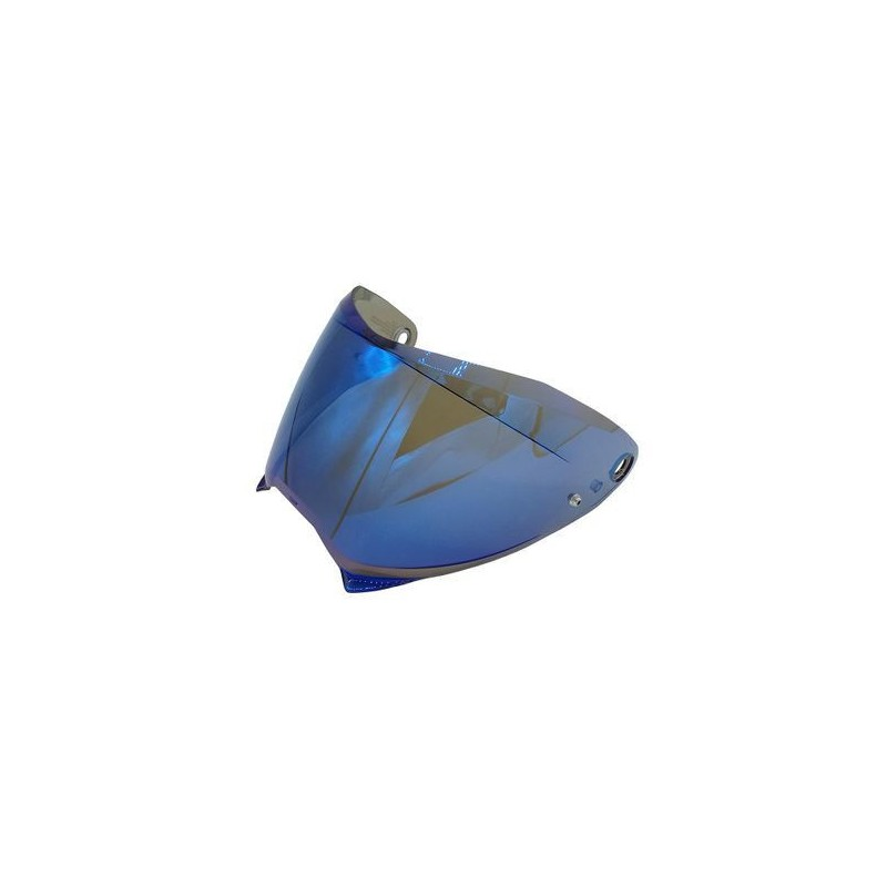 Ecran HJC HJ-32 Irridium bleu pour F70