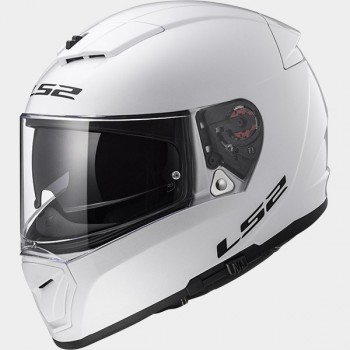 Casque LS2 Breaker Solid Blanc