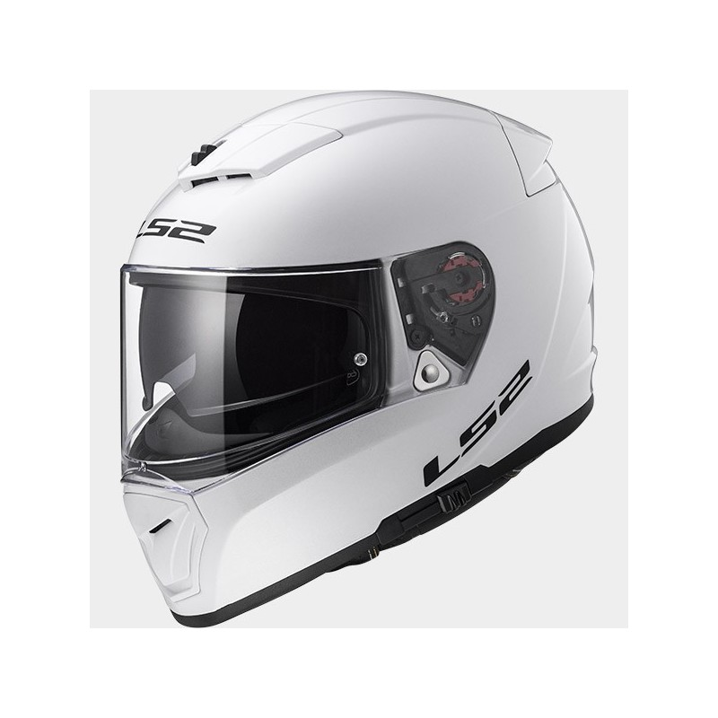 Casque LS2 Breaker Solid Blanc face