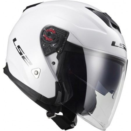 Casque LS2 Infinity Solid Blanc