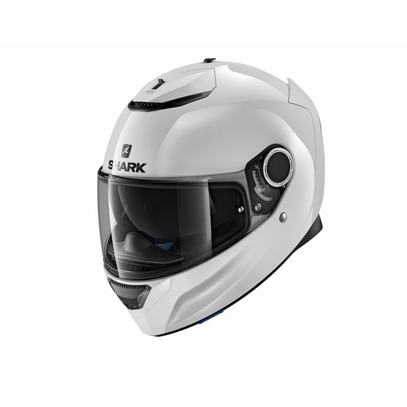 CASQUE INTEGRAL SHARK SPARTAN BLANK DESTOCKAGE