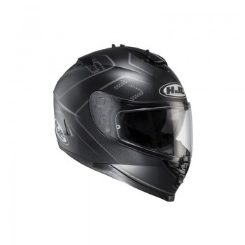 Casque HJC IS-17 LANK Noir Gris XL