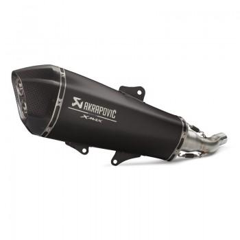 Silencieux Slip-On AKRAPOVIC Noir pour X-MAX 400