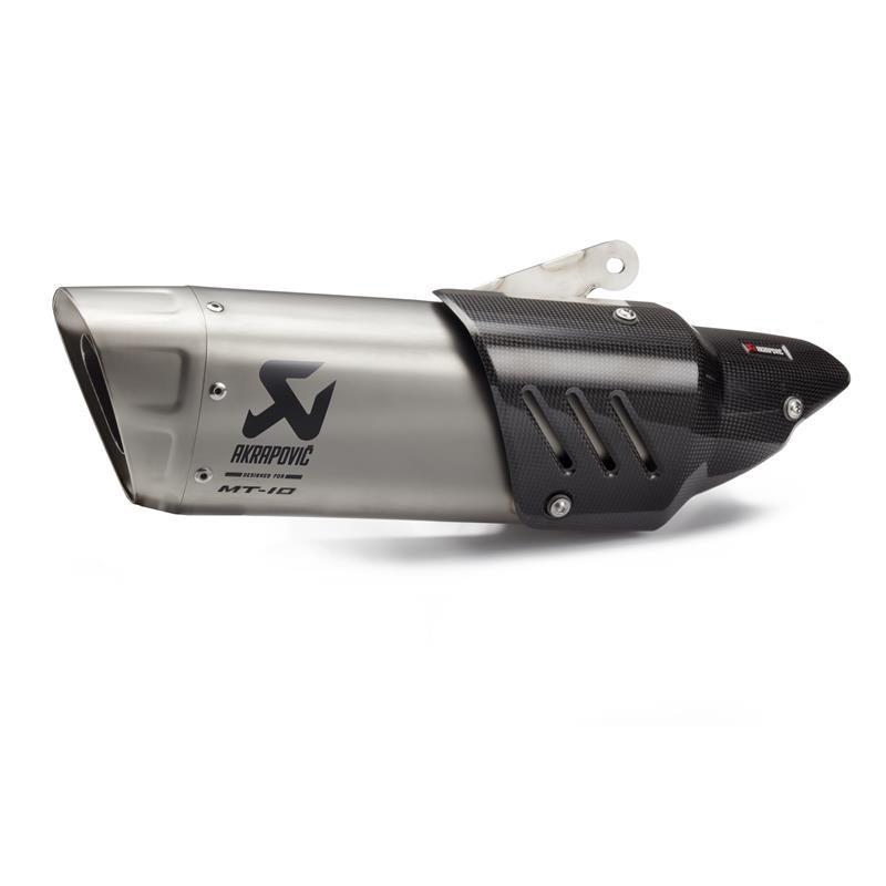 Silencieux AKRAPOVIC Slip-On Titane pour MT10