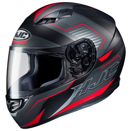 Casque HJC CS-15 Trion Noir Rouge