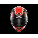 Casque moto Intégral Shark Skwal 2 Réplica Sykes Mat Noir Rouge