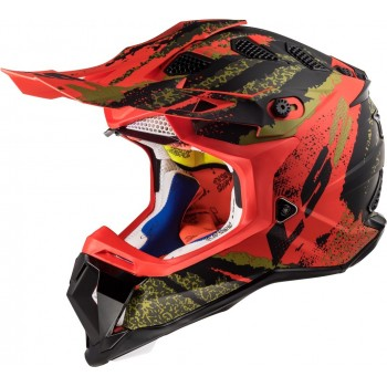 CASQUE CROSS LS2 SUBVERTER CLAW