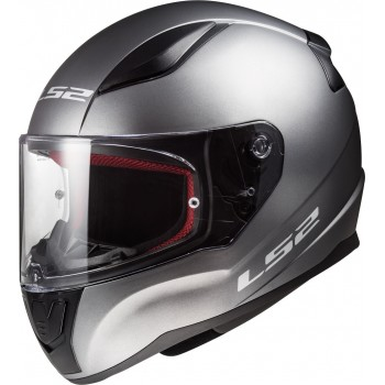CASQUE INTEGRAL LS2 RAPID SOLID TITANIUM MAT