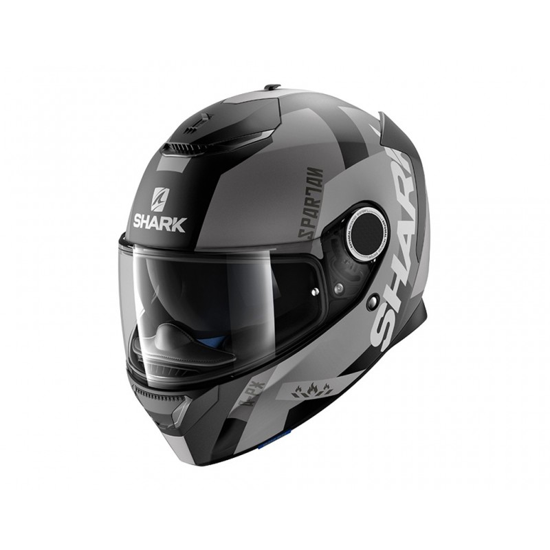 CASQUE INTEGRAL SHARK SPARTAN APICS MAT DESTOCKAGE
