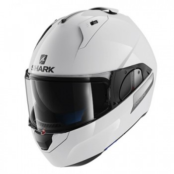 CASQUE MODULABLE SHARK EVO-ONE BLANK BLANC XS