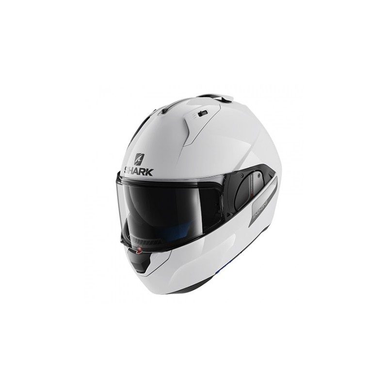 CASQUE MODULABLE SHARK EVO-ONE BLANK BLANC FIN DE SERIE