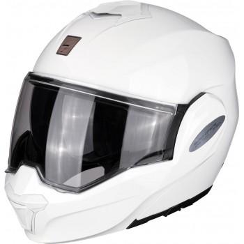 Casque Scorpion Exo-Tech Solid Blanc