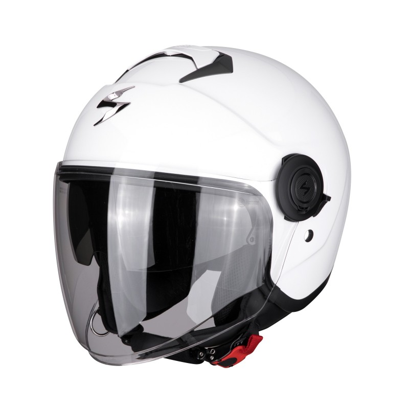 Casque Jet Scorpion EXO-City Solid Blanc