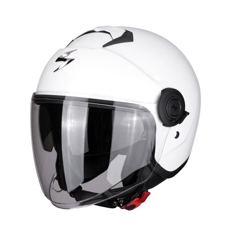 Casque Jet Scorpion EXO-City Solid Blanc