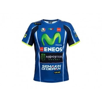 T-SHIRT VR46 REPLICA REPLICA DESTOCKAGE