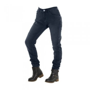 JEANS OVERLAP CITY LADY NAVY