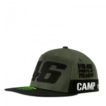 CASQUETTE VR46 REPLICA MONSTER BLACK