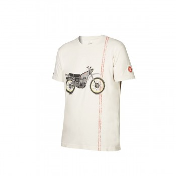 T-SHIRT HOMME YAMAHA FASTER SONS XTRIBUTE XT500