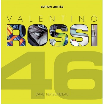 LIVRE VALENTINO ROSSI EN 100 PHOTOS by DAVID REYGONDEAU