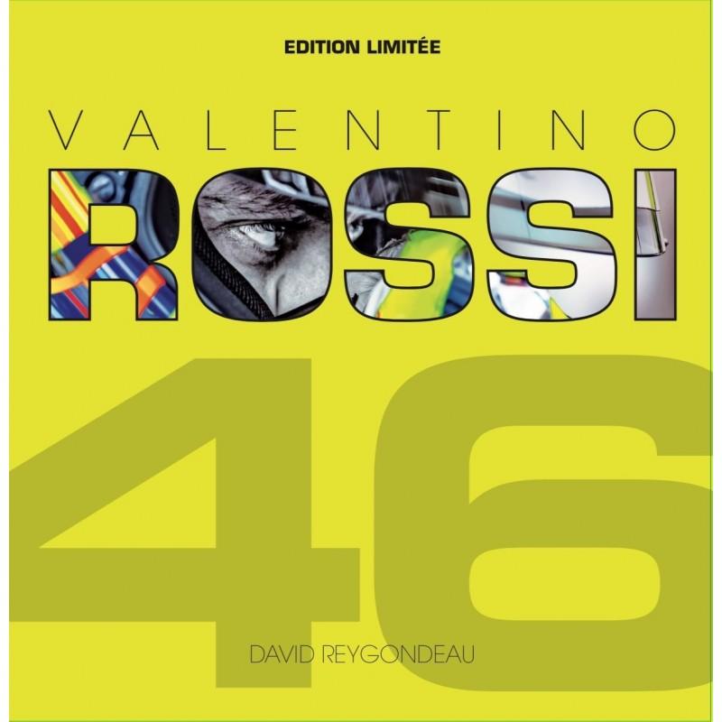 LIVRE VALENTINO ROSSI EN 100 PHOTOS by DAVID REYGONDEAU