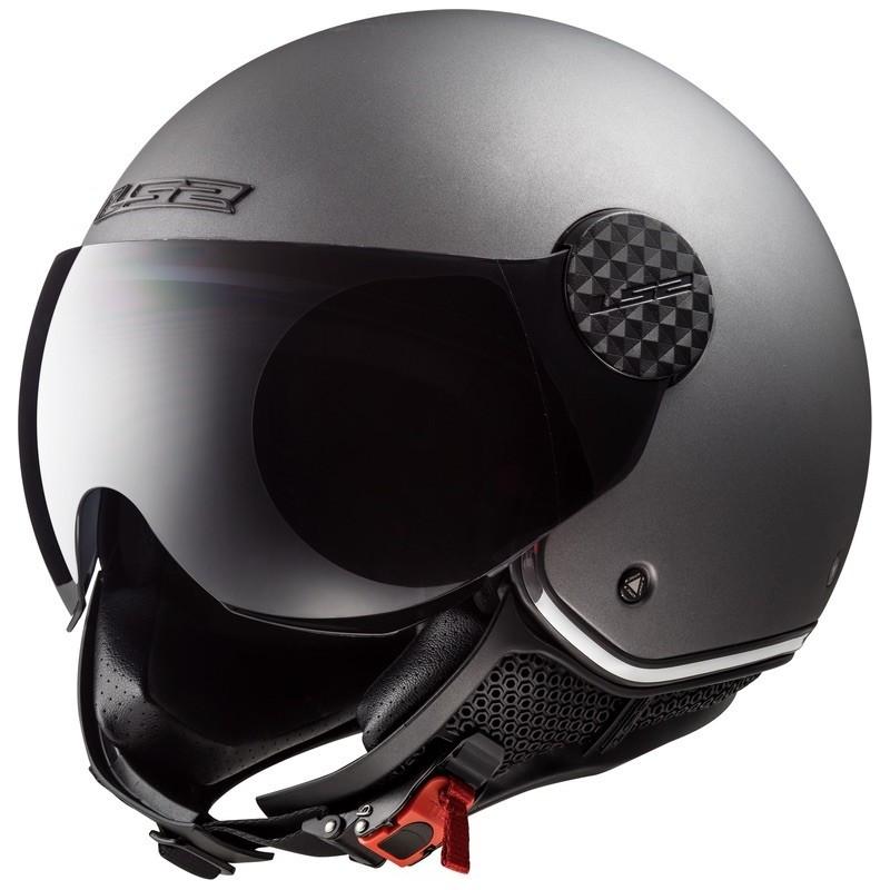 Casque Jet LS2 Sphere Lux Mat Titanium