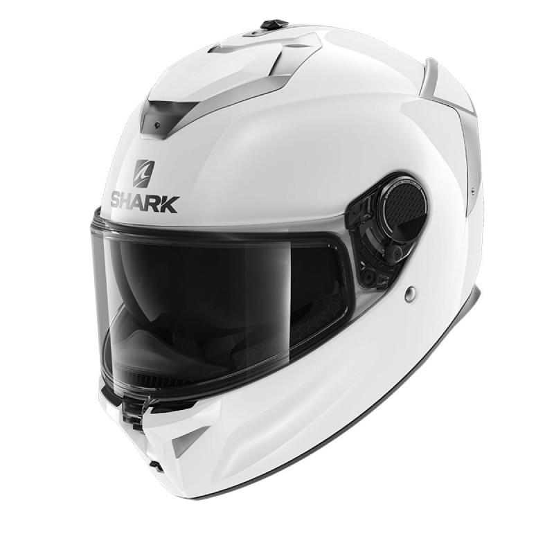 Casque moto intégral Shark Spartan GT Blank Blanc