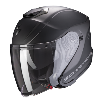 CASQUE JET SCORPION EXO-S1 SHADOW NOIR MAT