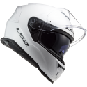 Casque LS2 Storm Solid Blanc