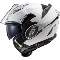 Casque LS2 Valiant II FF900 Solid Blanc
