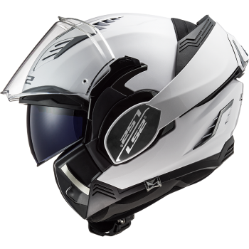 CASQUE MODULABLE LS2 VALIANT II SOLID BLANC