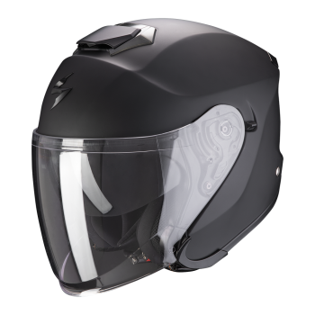 Casque Jet Scorpion Exo-S1 Solid Noir Mat