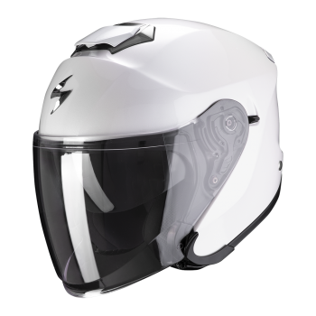 CASQUE JET SCORPION EXO-S1 SOLID BLANC