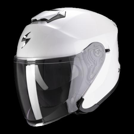 Casque Scorpion Exo-S1 Solid Blanc